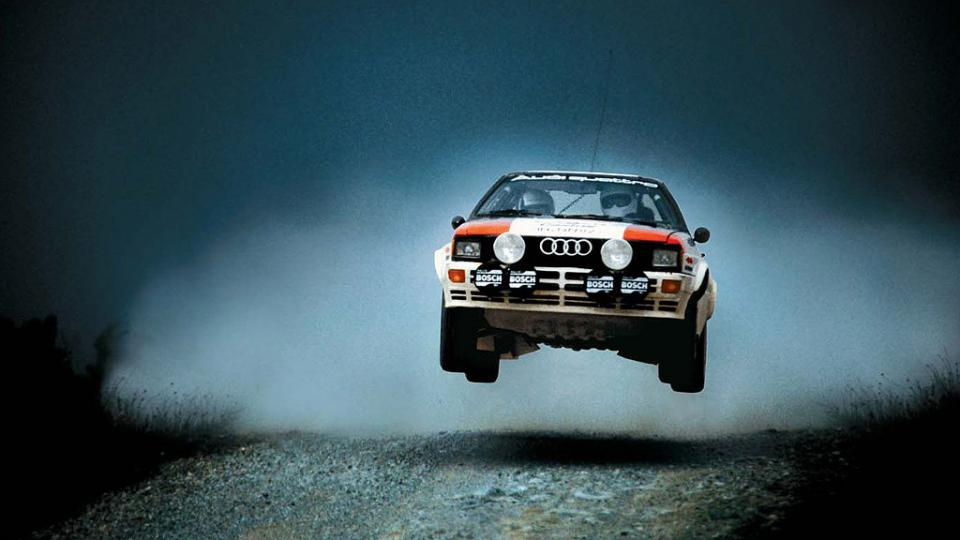 Audi Quattro Rally Car 4